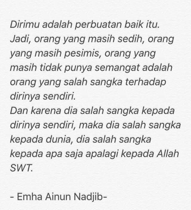 Cak Nun quote