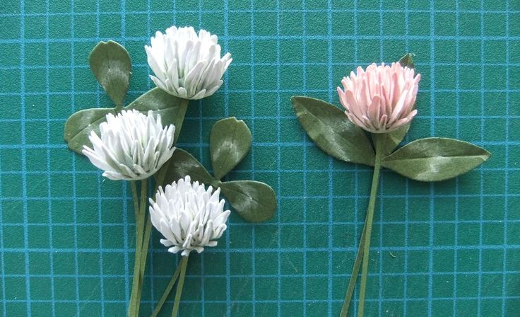 Paper Clover Flower Tutorial