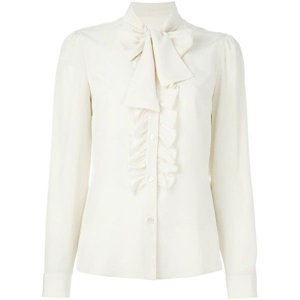 Best 25  White ruffle blouse ideas on Pinterest | White wash bags ...