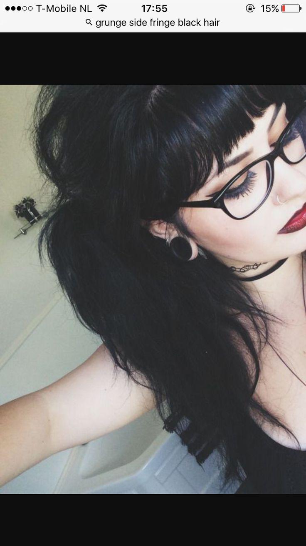 best GOALS images on Pinterest  Hair black hair Grunge style