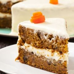 Classic Carrot Cake with Cream Cheese Frosting Recipe from Boston's Flour Bakery & Cafe