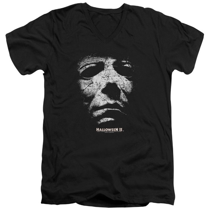 """Checkout our #LicensedGear products FREE SHIPPING + 10% OFF Coupon Code """"Official"""" Halloween Ii / Mask - Short Sleeve Adult V-neck 30 / 1 - Halloween Ii / Mask - Short Sleeve Adult V-neck 30 / 1 - Price: $34.99. Buy now at https://officiallylicensedgear.com/halloween-ii-mask-short-sleeve-adult-v-neck-30-1"""