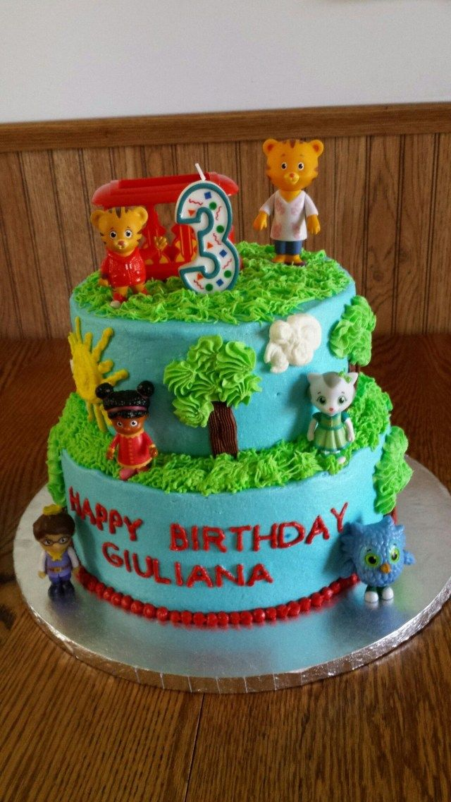 32 Creative Photo Of Daniel Tiger Birthday Cake With Images