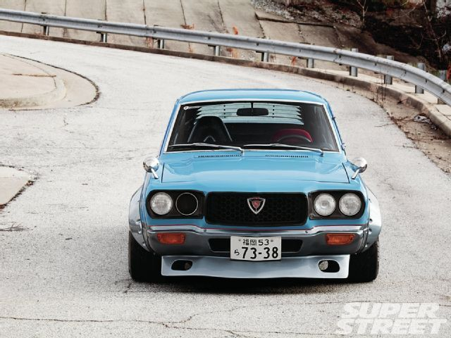 1973 Mazda RX 3 Custom Air Dam