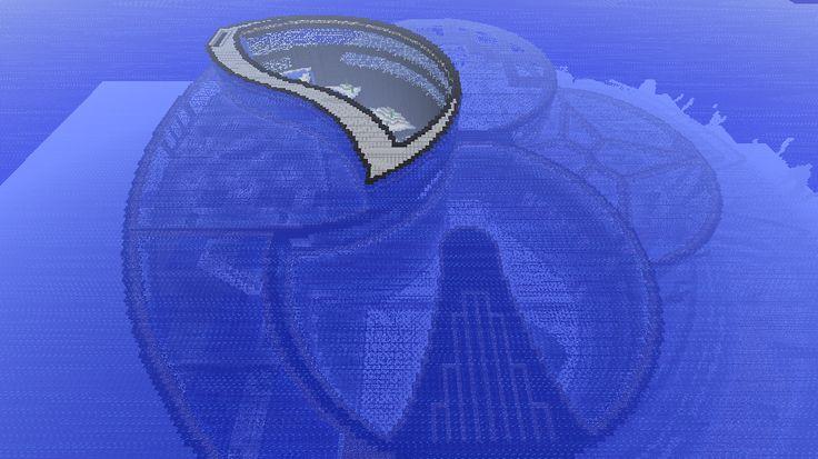 Minecraft - Underwater City by ~Ludolik on deviantART  Such an amazing build.