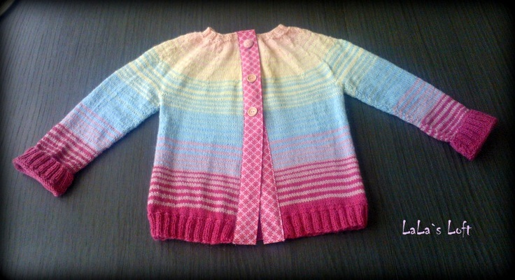 Knitted jacket cardigan