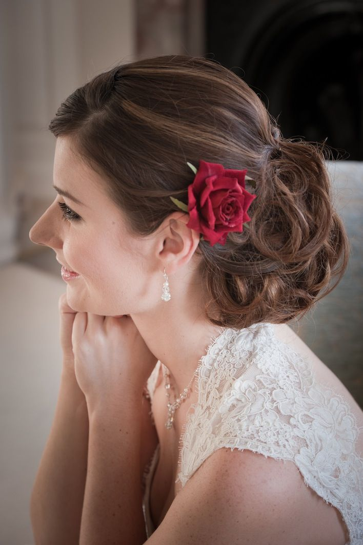 hair wedding styles with flowers 18 best images about hair with flowers on updo 9028
