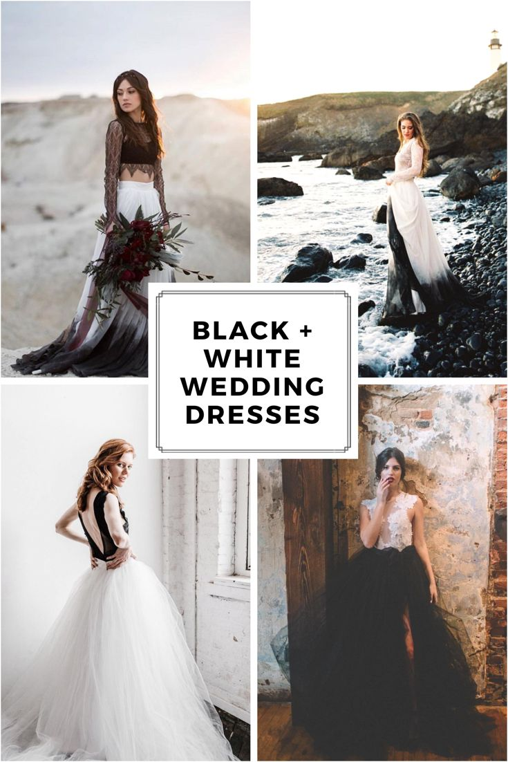 Fearless Separates For The Modern Siren By Sweetcarolinestyles Nontraditional Wedding Dress Bridal Separates Black White Wedding Dress [ 1102 x 735 Pixel ]