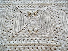 Ravelry: Its a Hoot Owl Afghan Square pattern by Carlinda Lewis