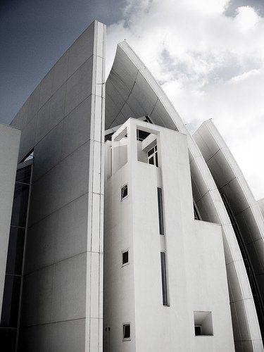 The Jubilee Church in rome by Richard Meier   via flickr: Aka Dios, Dios Padr, 1996 2003, Italy 1996, Meier Aka, Padr Misericordioso, 2003 Architects, Church Tor, Misericordioso Mercy