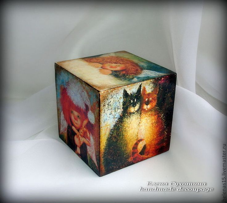 Елена Сухотина handmade decoupage   Россия, Орел