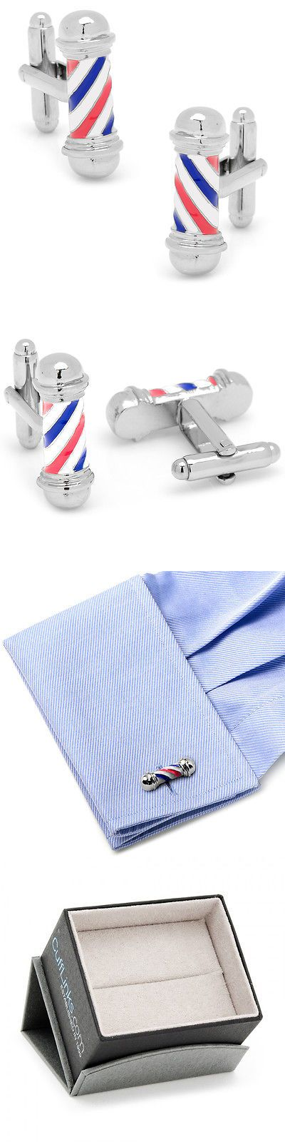 Cufflinks 137843: Cufflinks, Inc. Classic Barber Shop Pole Cufflinks -> BUY IT NOW ONLY: $64.95 on eBay!