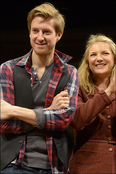 Arthur Darvill and Joanna Christie, from Once