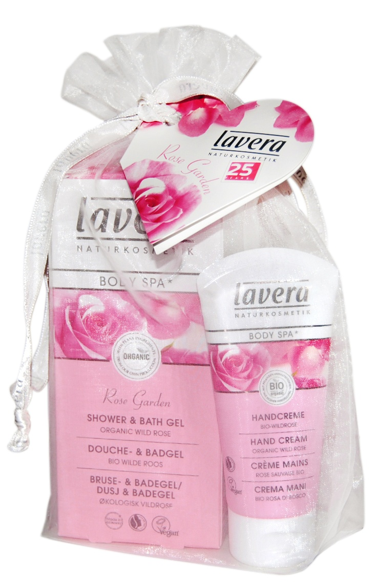 lavera - Body Spa - Rose Garden Gift Set  Shower Gel + Hand cream