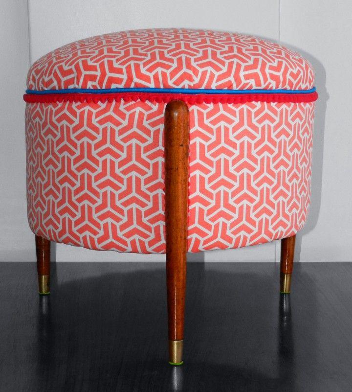 Encontrá Puff / Otomana redonda desde $1800. Muebles, Living y más objetos únicos recuperados en MercadoLimbo.com.