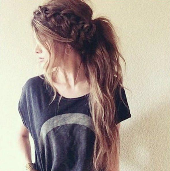 Op zoek naar nieuwe vlecht of kleur ideeën? 9 super hippe lang haar kapsels!