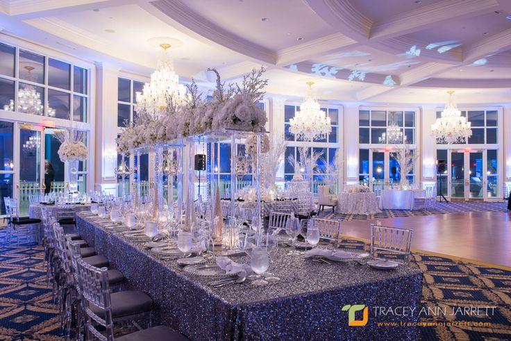Winter Wonderland Wedding in Miami, FL Venue: Trump National Doral Miami Crystal Ballroom