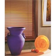 Windoware Venetian Blind 27x1350x1370mm Basswood Teak