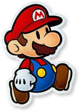 Mario in Paper Mario: Color Splash