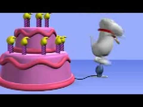 Mensajes para desear feliz cumpleaños/talking friends/mensajes bonitos - YouTube
