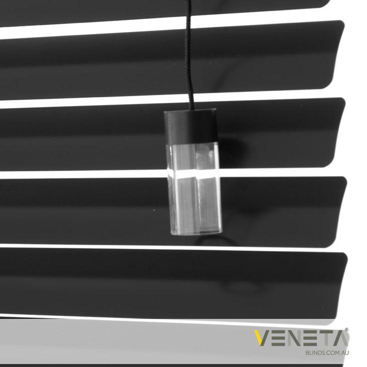 Veneta Blinds : Aluminium Blinds Colour : BLACK