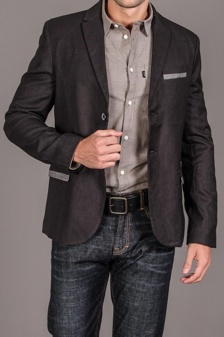 Casual Friday #workattire is a mystery for many people. Pair dark denim jeans with a blazer and ...