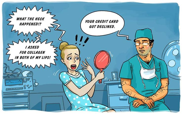 Plastic surgery. How to tame your credit card