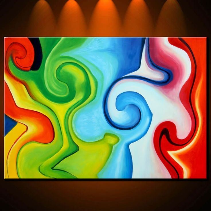 1000 ideas about easy abstract art on pinterest diy for Easy to do abstract paintings