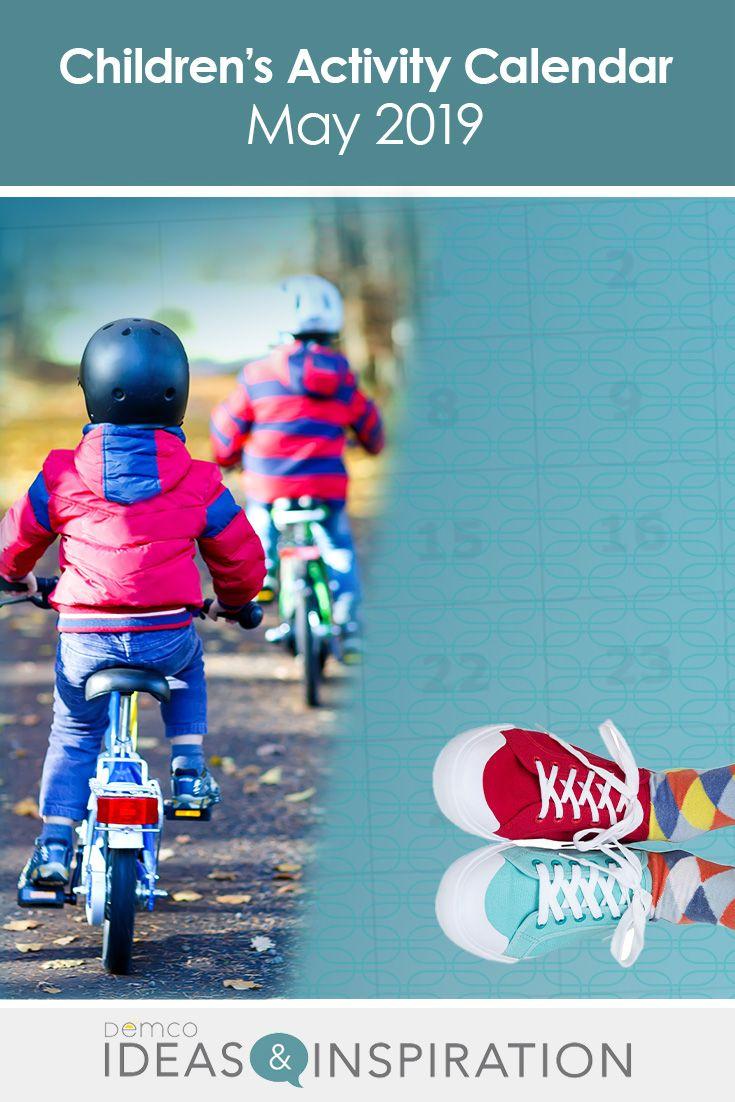 Children S Activity Calendar May 2019 Activities Reading