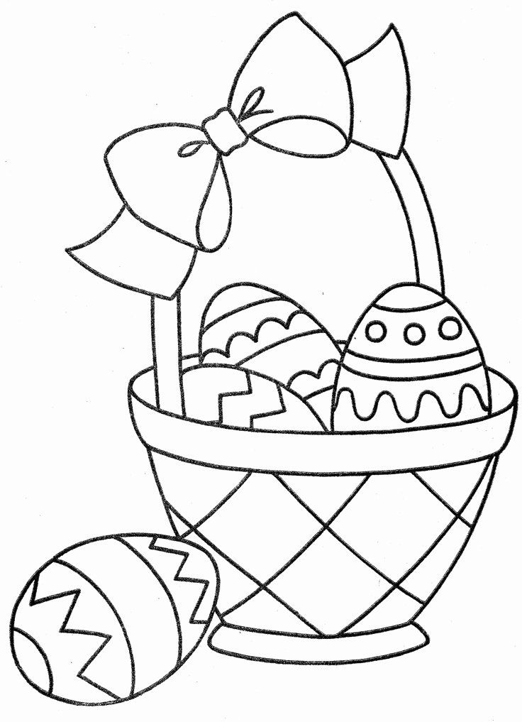 Easter Basket Coloring Page New 630 Best Coloring Pages Fun Images On Pinterest Bunny Coloring Pages Free Easter Coloring Pages Easter Bunny Colouring