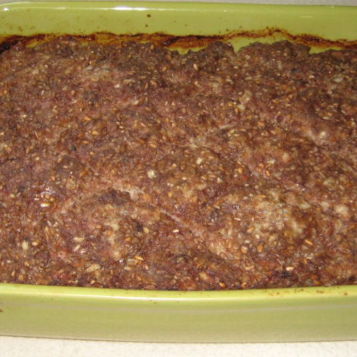 Baked Kibbeh Recipe   Just A Pinch Recipes