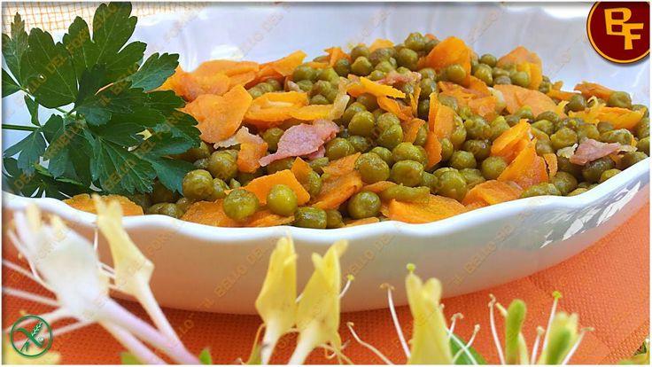 Contorno-piselli-carote-e-prosciutto