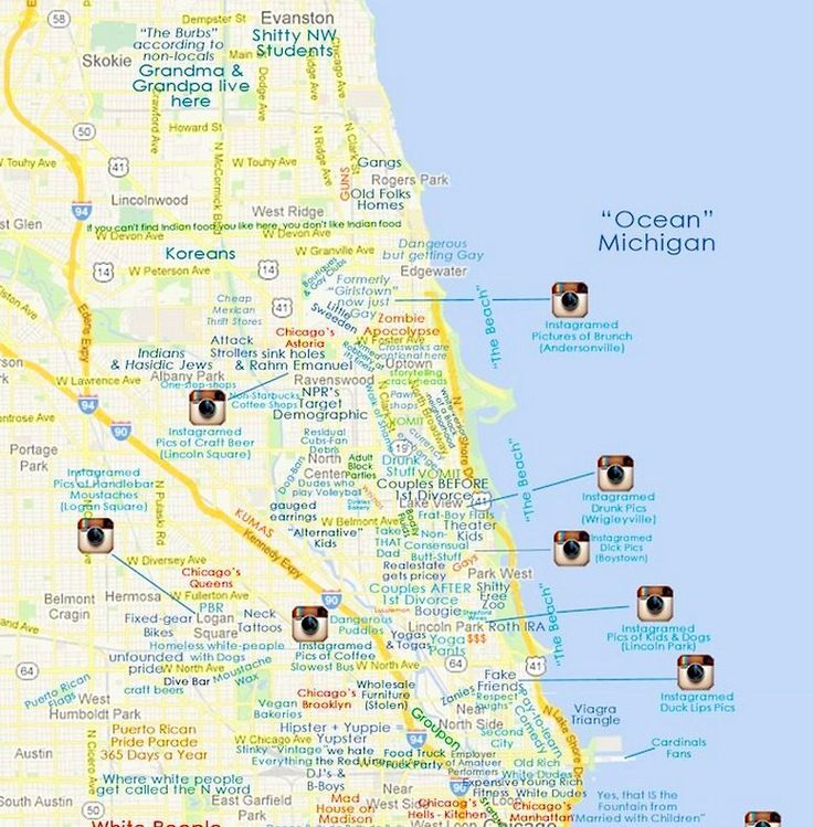 This Map of Chicago Will Offend Pretty Much Everyone - It Came From the Internet - Curbed Chicago