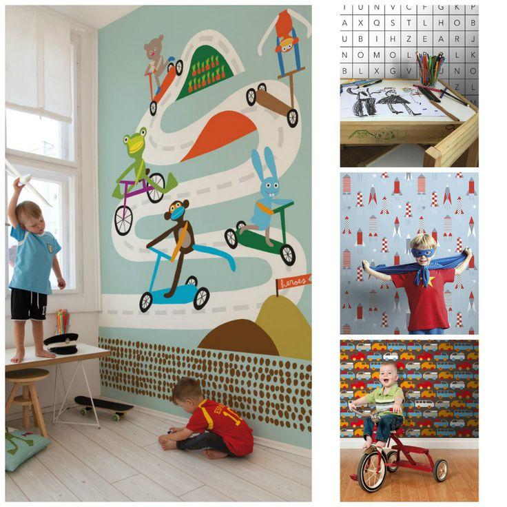 De leukste kinderkamer merken zoals: Kidsmill, Room Seven, Ferm Living, Done by Deer, Bedhuisje, Inke behang, Djeco, Little Dutch, Ferm Living & Colorique.