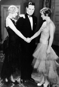 """Gwen Lee, William Haines & Joan Crawford in """"The Duke Steps Out""""(1929)"""