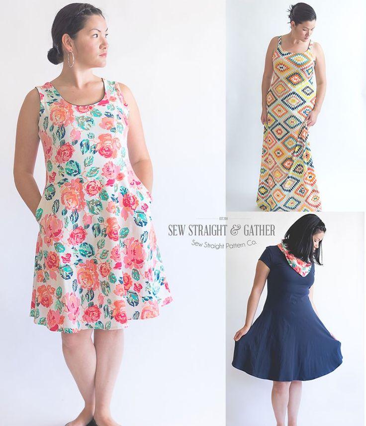 45 besten Sewing Patterns I own- Dresses Bilder auf Pinterest ...