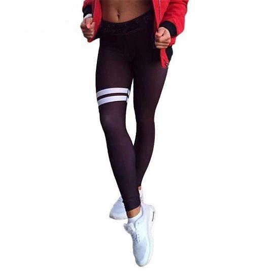 Active Double Stripe Leggings #leggings #womens #fitnessmodel #gymlife #fitspo #comics #pants