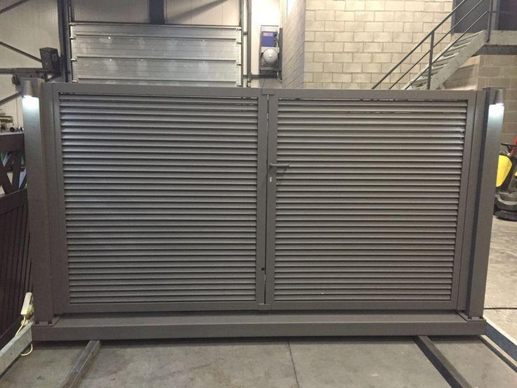 Metallooks: Aluminium poorten