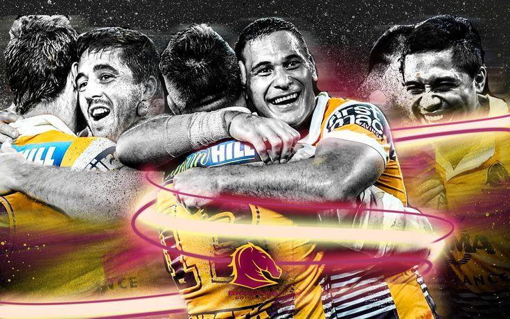 Brisbane Broncos wallpaper Sports Graphic