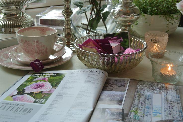 Elsker interiørblader og rosa! <3