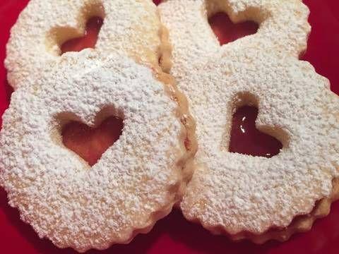 Galletas de San Valentín sin gluten Receta de mranz - Cookpad                                                                                                                                                                                 Más