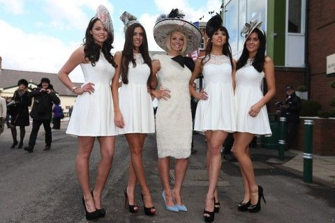 Ladies Day, Aintree 2013.