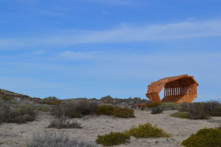 Galería de Estaciones Interpretativas: intervenciones en reserva natural de Baja California, México - 11