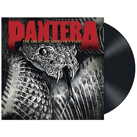 """L'album dei #Pantera intitolato """"The great southern outtakes"""" su vinile nero."""
