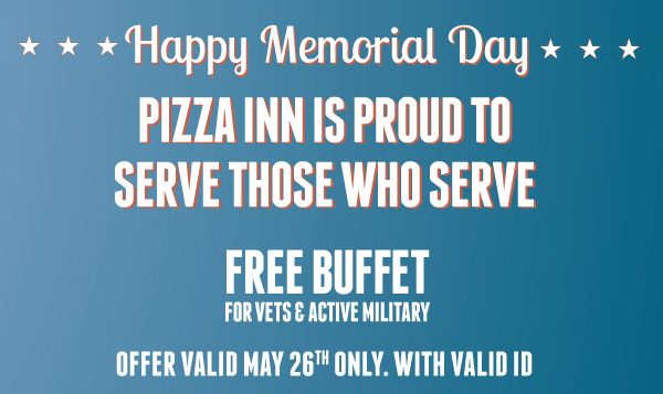 memorial day deals pizza