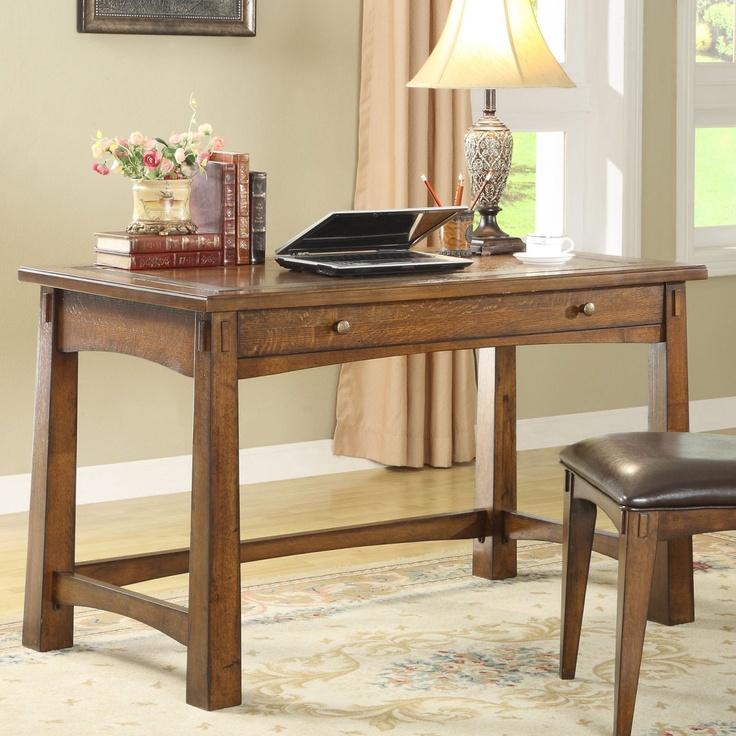 Riverside Craftsman Home Writing Desk