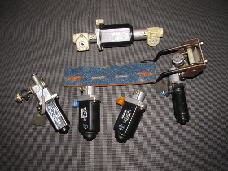 86 87 88 Toyota Supra OEM Front Seat Power Motor Set - Left