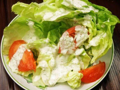 Ina's Bibb Salad with Basil Green Goddess Dressing | Culinary Bric-a-Brac