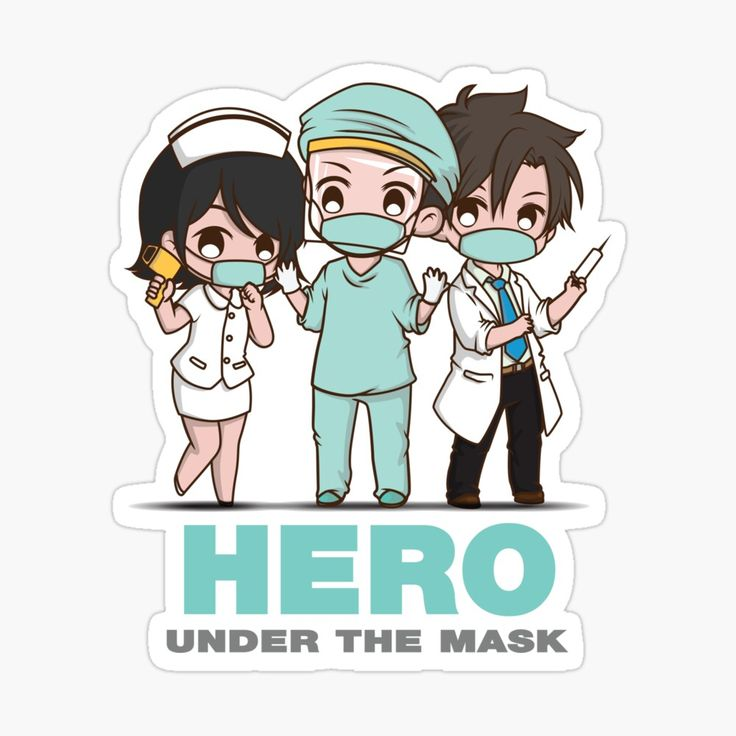 Cute anime manga health care professionals. Chibi nurses