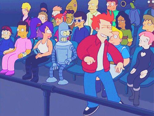 "futurama-universe:  ""Futurama -  01x09 - Hell Is Other Robots  """